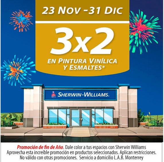 Promoción Sherwin Williams Diciembre 2020